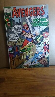 The avengers 77 Bronze age Beauty!!!! VF+