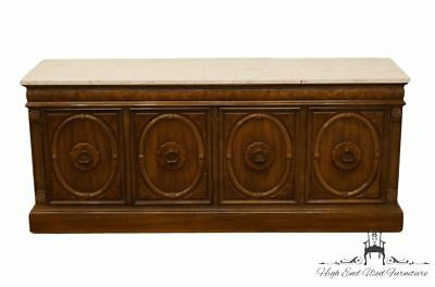 "THOMASVILLE FURNITURE Monteverdi Collection 67"" Marble Top Buffet / Sideboard..."