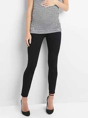 Gap Maternity Demi Panel True Skinny Jeans in Black ~ NWT ~ Size 29 / Size 8