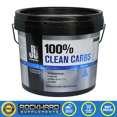 JD Nutraceuticals 100% Clean Carbs 4kg Carbohydrate Maltodextrin Mass Gainer