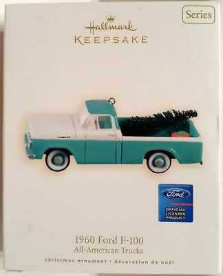 2008 Hallmark All-American Trucks 1960 Ford F-100 Keepsake Ornament