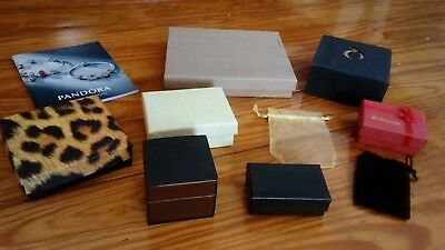 Lot Authentic Pandora Mixed Gift Boxes Catalogue 4Charms Beads Bracelet Necklace