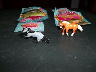 Breyer horse lot of 2 Mini Whinnies blind bag Emmy and Outlaw