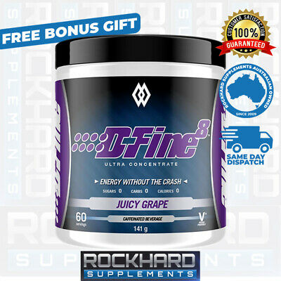 Musclewerks D-fine 8 Thermogenic Fat Burning Powder Dfine8 Define8 Weight Loss