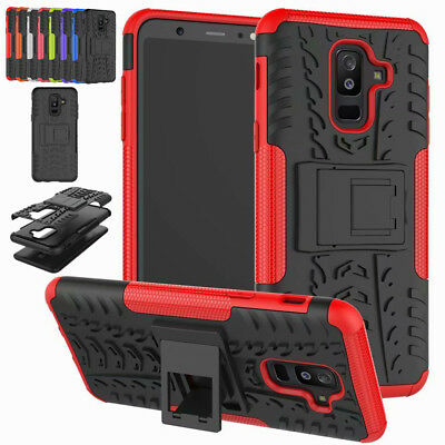 For Samsung Galaxy A6 A8 Plus, A5 2017 Shockproof Hybrid Armor Rugged Case Cover