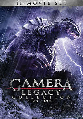 Gamera: Legacy Collection 1965-1999 (DVD, 2014, 4-Disc Set)(NEW)