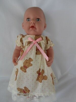 "Handmade dolls clothes (Nightdress, pants) fit 40cm ""Missy Kissy"" Berenguer doll"