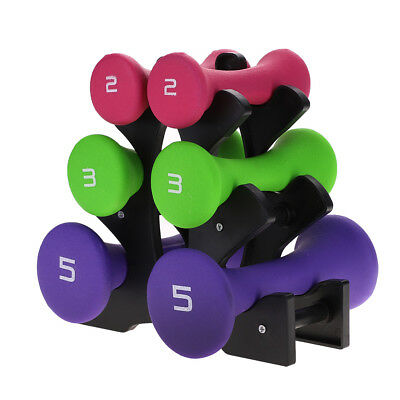 Neoprene Dumbbell Weights Home Gym Fitness Aerobic Exercise Iron Pair Hand