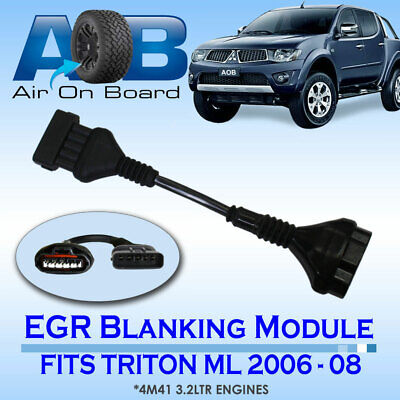EGR 004 BLANKING MODULE FOR Mitsubishi Triton ML 4M41 3.2L engine TD 2006 - 2008
