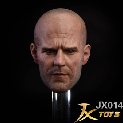 """1//6 Scale Jason Statham Head Sculpts Model Toys A-01 Male Carving 12/""""Body Figure"""