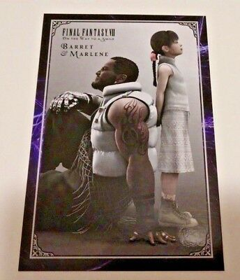 NYCC 2018 Exclusive Final Fantasy VII On The Way to a Smile Barrett Marlene Card
