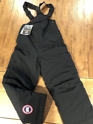 8a8e3cd4c NEW CANADA GOOSE Youth Rundle Bomber Down Black Jacket Size Large 14 ...