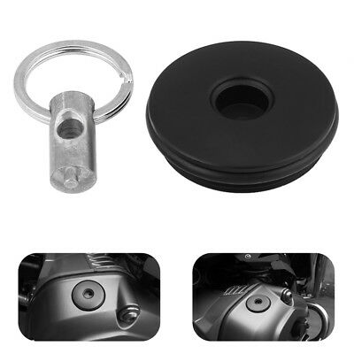 Motorcycles Engine Oil Filter Filler Cap Tank Cover For BMW R1200GS ADV 07-17
