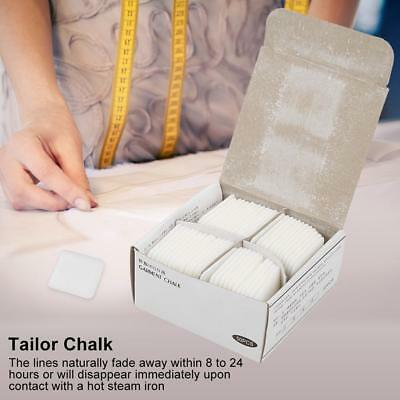 50pcs White Dressmaker Pattern Marking Sewing Chalk for Garment Factories Tailor