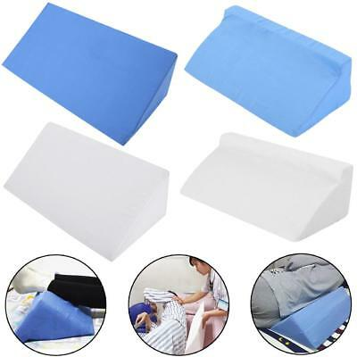 Foam Bed Wedge Acid Reflux Pillow Back Leg Elevation Cushion Support Cover Pad