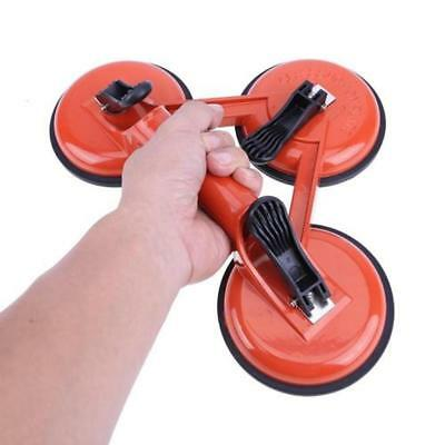 145kg Tripod Triple Glass Car Suction Cup Dent Remover Sucker Puller Plate Pad