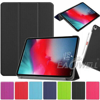 For New iPad Pro 11-Inch 2018 Slim Folding Leather Smart Cover Stand Case Shell