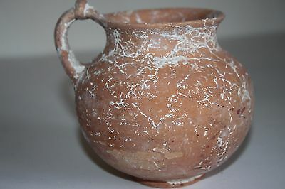ANCIENT GREEK POTTERY OLPE MUG 3rd BC  WINE CUP