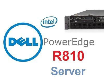 Dell PowerEdge R810 Server 2 x INTEL XEON  8-CORE, 128 GB RAM 2x 600GB SAS HDD