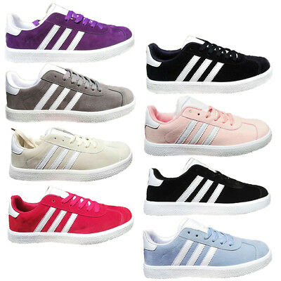 Womens Mens sports Shoes Running Trainers gym Sneakers flat Stripe Casual shoes