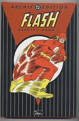Dc Archiv Edition # 8 - Flash 1 - Dino Verlag 2000 - Top