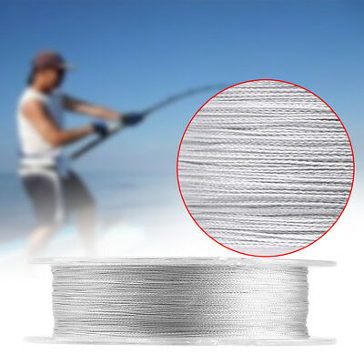 100m 300m 500m PE 4 Strands Braided Sea Fishing Line Rope Cord Tackle 3 Color CO