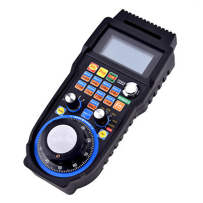 Wireless Electronic Handwheel 4-Axis Controller USB Handheld MPG for CNC MACH3