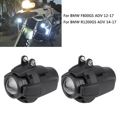 Motorcycle Auxiliary Fog Light Safety Driving Lamp For BMW R1200GS F800GS ADV