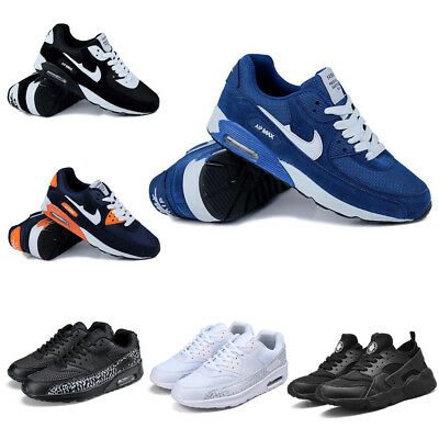 Mens Womens Running Sports Shoes Trainers Gym Sneakers Lace up Casual Shoes Size