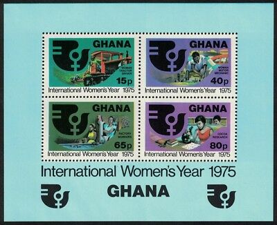 Ghana International Women's Year MS MNH SG#MS748