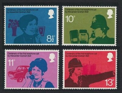 Great Britain Doctors Firemen Police Centenary of Telephone 4v MNH SG#997-1000