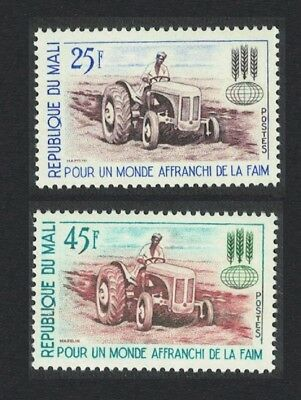 Mali Tractor Freedom from Hunger 2v MNH SG#60-61