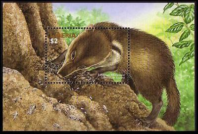 Liberia WWF Liberian Mongoose Accompanying Miniature Sheet MNH MI#Block 175
