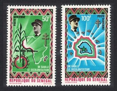 Senegal 'De Gaulle the De-colonizer' 2v MNH SG#447-448
