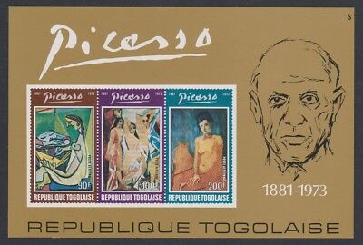 Togo Picasso Commemoration MS MNH SG#MS997