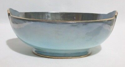 Maling Blue Lustre Bowl.  In excellent condition.