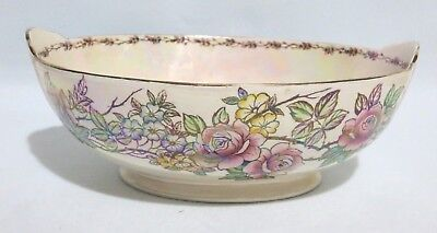 Maling Fruit Bowl Rosine Pattern. In excellent condition.
