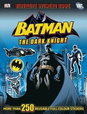 Ultimate Stickers: Batman the Dark Knight Ultimate Sticker Book by DK