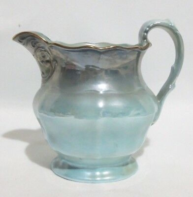 Maling Blue Lustre Jug.  In excellent condition.