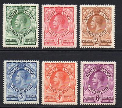 Swaziland Part Set of Stamps c1933 Mounted Mint