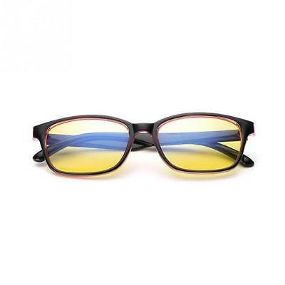 Gaming Glasses New Anti Fatigue Glare Yellow Lens PC Gamers Blue Light Block HD
