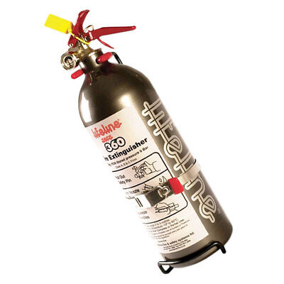 Lifeline Hand Held Fire Extinguisher Zero 360 2.0kg Novec 1230-Grey FIA Approved