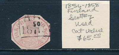 Own Part Of Finland Stamp History 1 Issue Cat $65.00  Shown