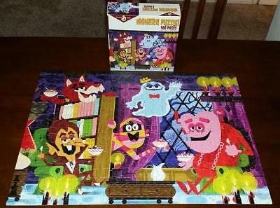 General Mills Cereal Monster Puzzle 500 Piece Frankenberry Count Chocula Mummy +