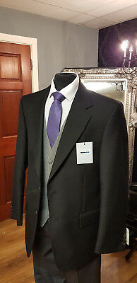 Mj- 202A Mens Brand New  Black Lounge / Masonic  Jacket Brook Tavener
