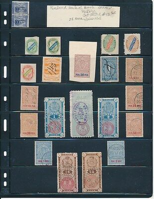 Own Part Of Finland Back Of Book Rare Stamp History 28 Issue Cat $42.50  Shown