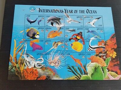 Ghana 1998 2740-2755 Year Of The Ocean Mnh (N)