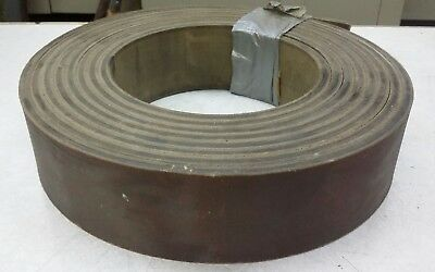 "3"" x 5/16"" x 23 Feet Plastic Core Leather Belt Conveyor"