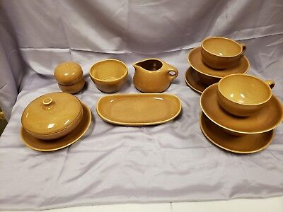 RUSSEL WRIGHT China by Iroquois in Ripe Apricot - 14 pc Set
