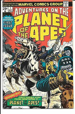 Adventures on the Planet of the Apes #1 (Oct 1975, Marvel)